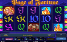 Page Of Fortune Deluxe Online Slot