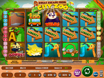 The Great Escape From City Zoo Online Slot