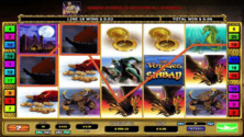 The Voyages Of Sinbad 2By2 Online Slot