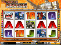 Transformers Ultimate Payback Online Slot